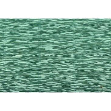 гофрированная бумага цвета морской волны