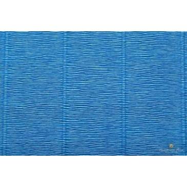 гофрированная бумага синяя