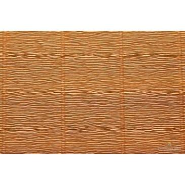гофрированная бумага светло-коричневая