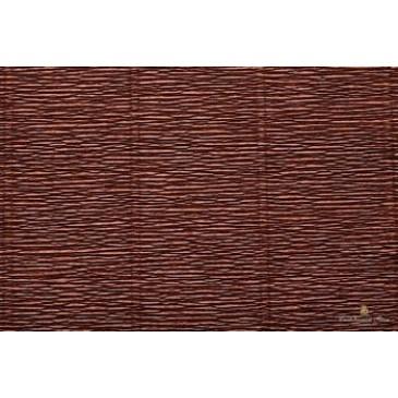 гофрированная бумага коричневая