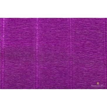 гофрированная бумага яркая фиолетовая
