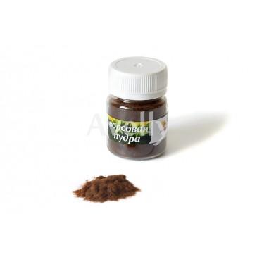 Ворсовая пудра коричневая