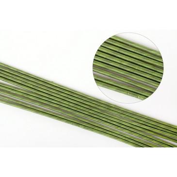 Проволока зеленая №16 для стержней, 40 см