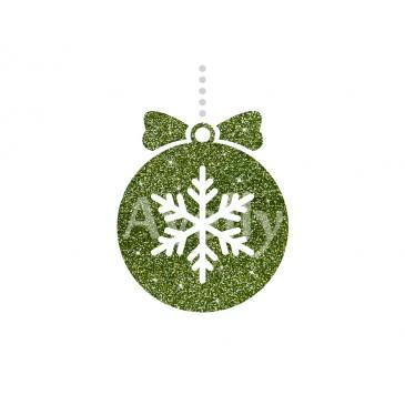 Блестки зеленые новогодние