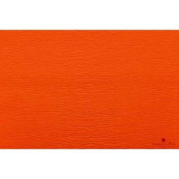 гофрированная бумага неоновая оранжевая
