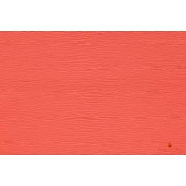 гофрированная бумага лососевая