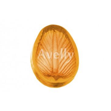 Текстурный молд лепесток попугайного тюльпана мини