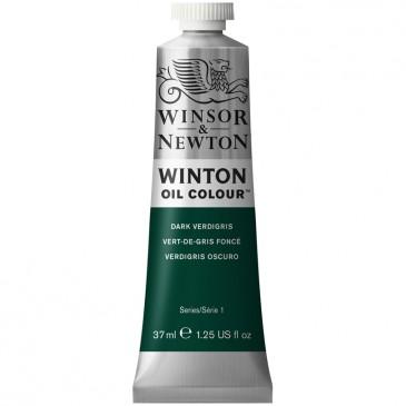 Масляная краска Winton Зеленая патина (Dark verdigris)