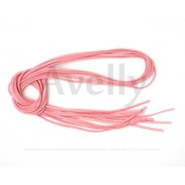 Шнур замшевый розового цвета