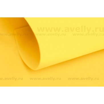 фоамиран иранский желтый 2 мм