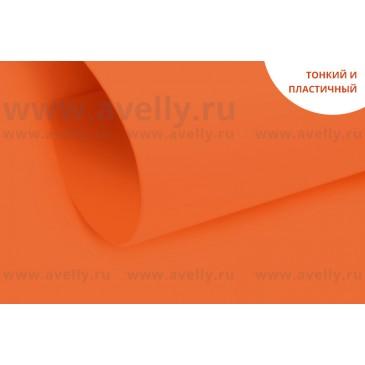 фоамиран корейский цвет оранжевый апельсиновый
