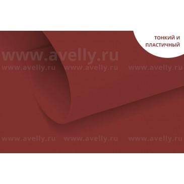 фоамиран корейский для цветов и рукоделия цвет бордовый
