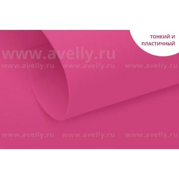 фоамиран корейский для цветов розовая петунья, 60*80 см