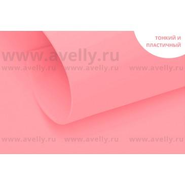 фоамиран корейский розовый для цветов и рукоделия