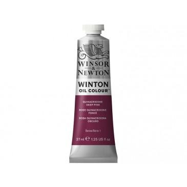 Масляная краска Winton Квинакридон темно-розовый (Quinacridone deep pink)