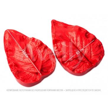 силиконовый молд лист подсолнуха большой