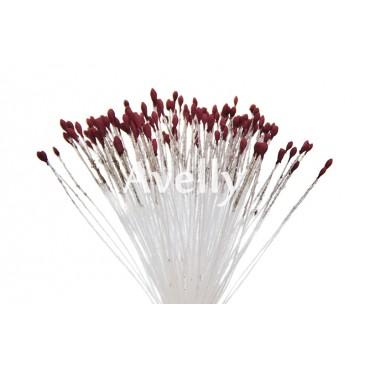Тычинки для цветов красное дерево, мелкие