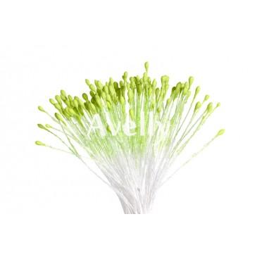 тычинки салатовые мелкие