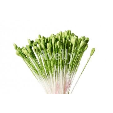 Крупные тычинки для розы, цвет травянисто-зеленые
