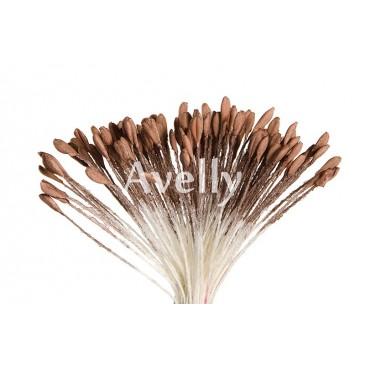 тычинки коричневые для розы