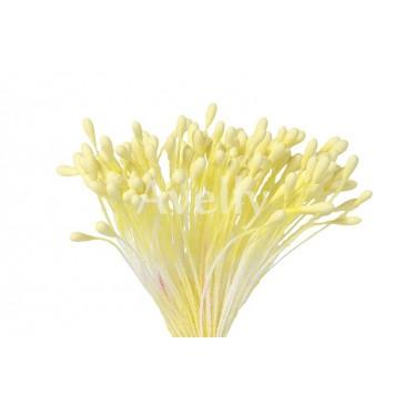 Тычинки для цветов лимонные крупные