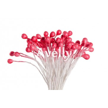 Тычинки для цветов малиновый щербет