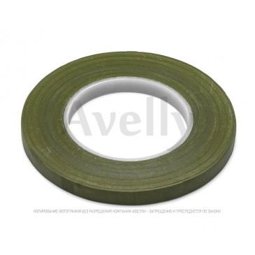 флористическая лента зеленый мох узкая