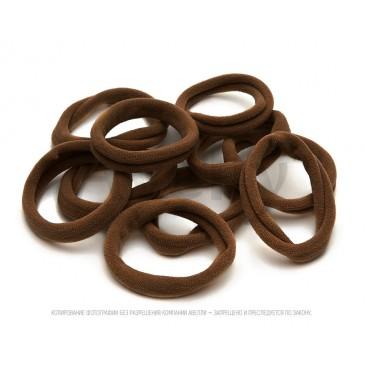 коричневые резинки для волос