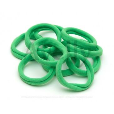 зеленые резинки для волос