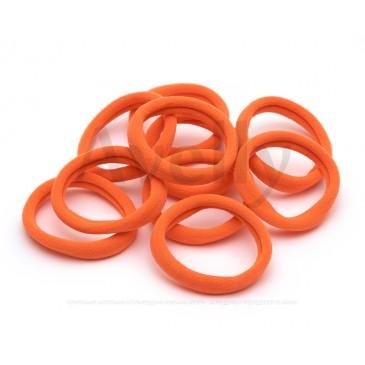 оранжевые резиночки для волос