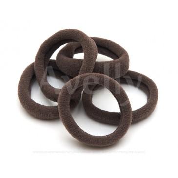 коричневые универсальные резиночки для волос