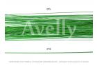 Проволока для цветов в бумажной обмотке светло-зеленая