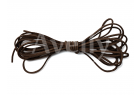 Шнур замшевый коричневый