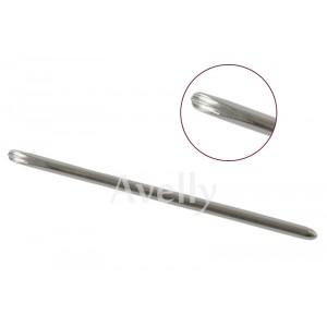 Металлический стек кошачья лапка, для работы с полимерной глиной