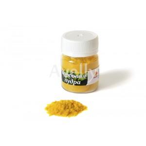 Ворсовая пудра желтая