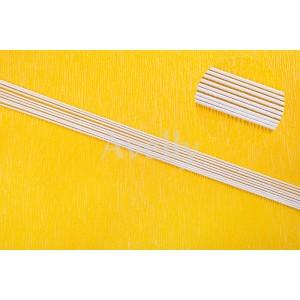 Проволока для цветов №14 в бумажной обмотке, белая, 5 шт