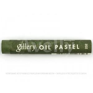 пастель масляная 232 зеленый мох