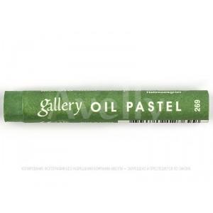 пастель масляная 269 зеленый мох светлый