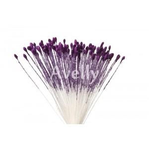 Тычинки для цветов фиолетовые медуница, мелкие