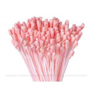 """Японские тычинки для цветов """"коралловые"""" крупные для розы, 288 шт"""
