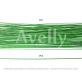 Флористическая проволока светло-зеленая №22, 100 шт в уп.